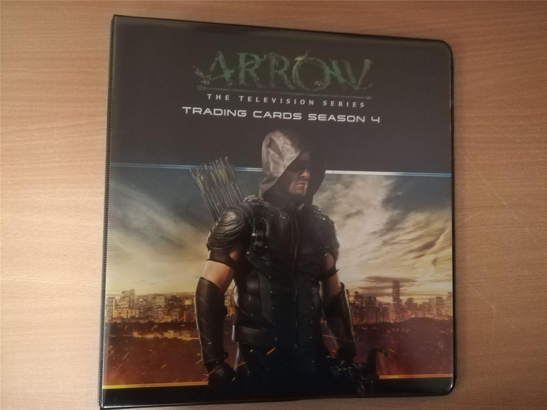 Arrow Season 4 Official Cryptozoic Binder