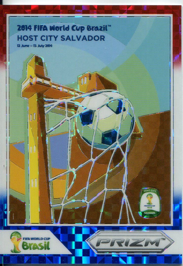 Panini Prizm Coupe du Monde 2014 AFFICHES Pulsar PRIZM #6 Manaus