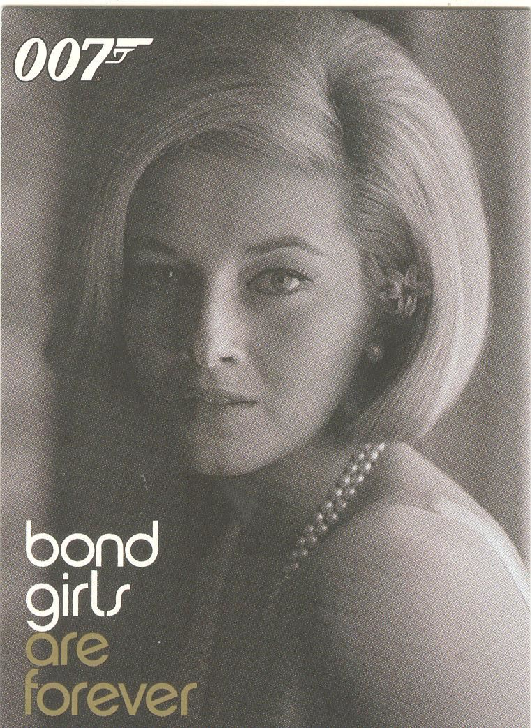 James Bond Women In Motion Bond Girls Are Forever Chase Card BG10