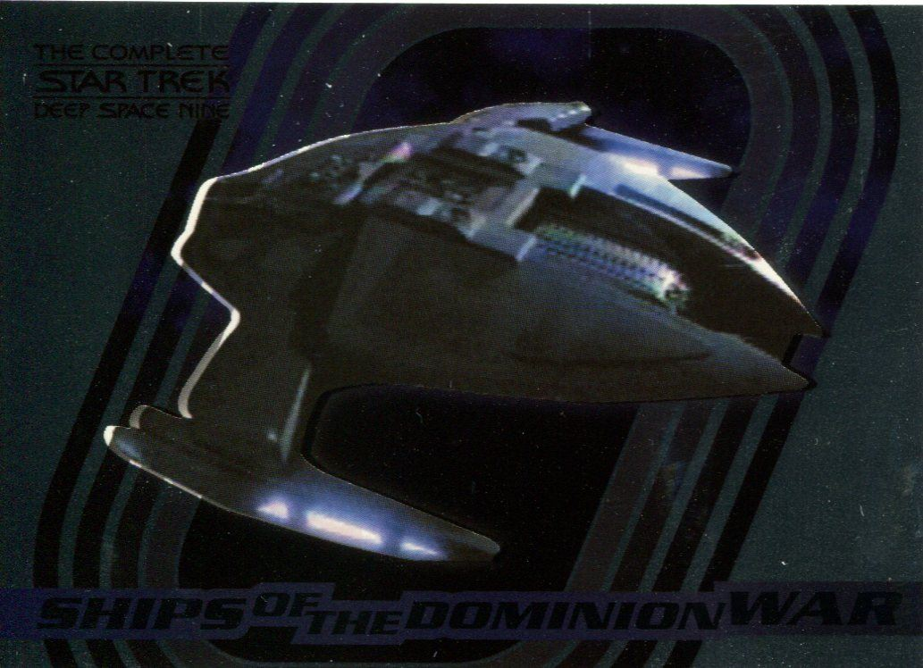 Complete Star Trek Deep Space Nine Ships Of Dominion Chase Card S4