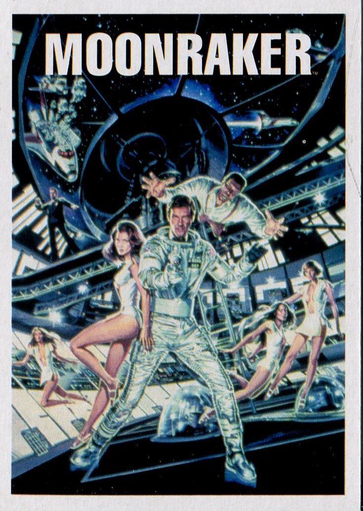 James Bond Archives 2016 Spectre Moonraker Chase Card #19