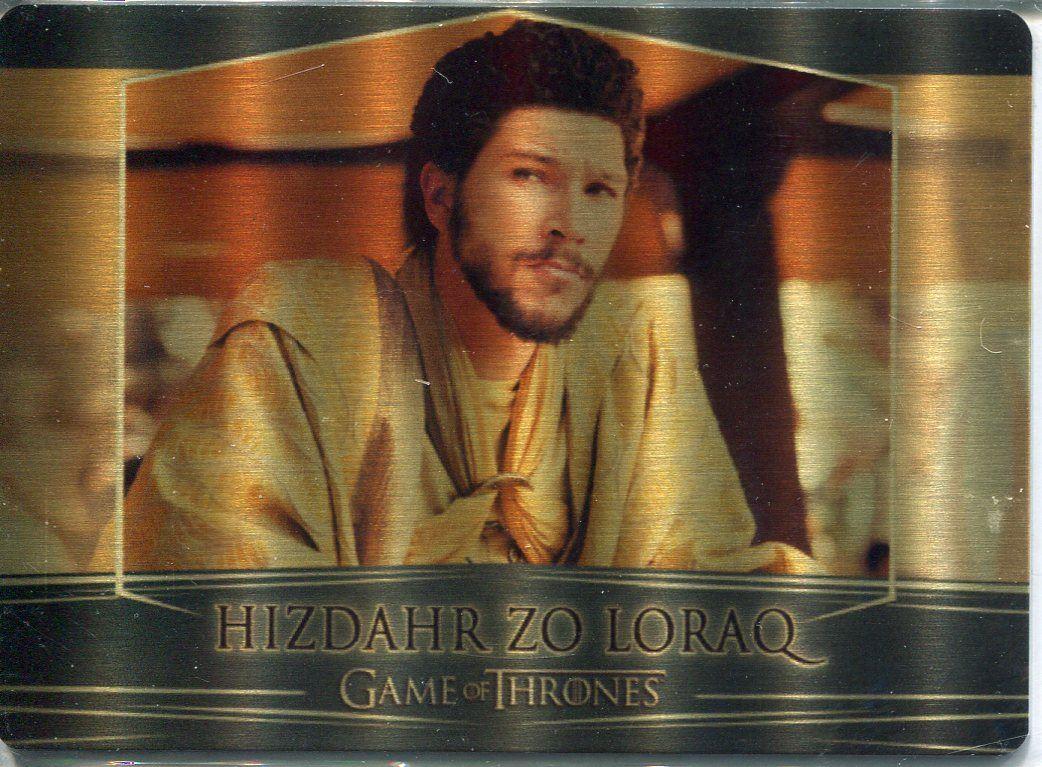 METAL BASE CARD 52 GAME OF THRONES VALYRIAN STEEL