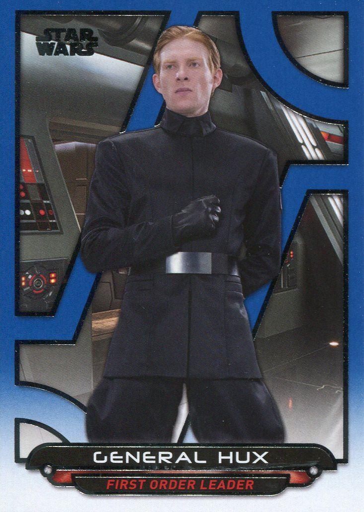 Star Wars Galactic Files Reborn Blue Parallel Base Card TFA-27 Lieutenant Mitaka