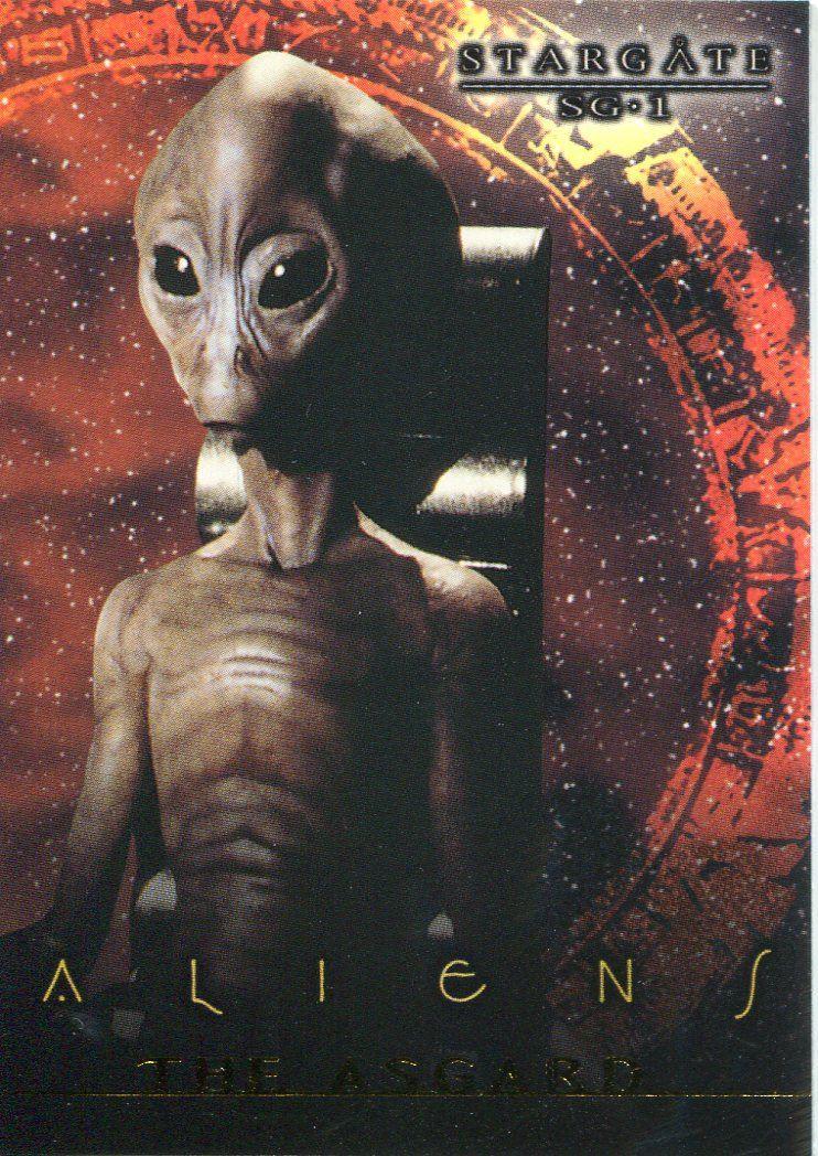 Stargate SG1 Premiere Stargate Aliens Chase Card X6