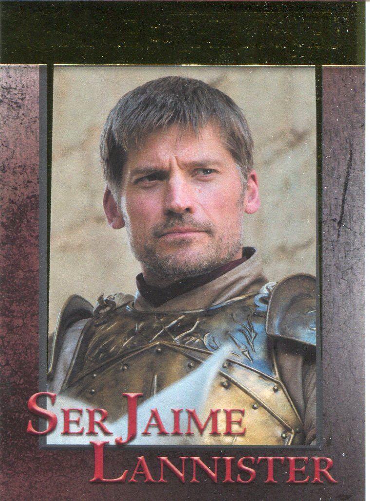Game Of Thrones Season 6 Foil Base Card #32 Ser Jaime Lannister