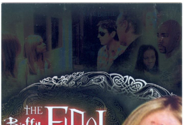 Buffy TVS Season 7 The Final Battle Gold Parallel Chase Card FBP-7