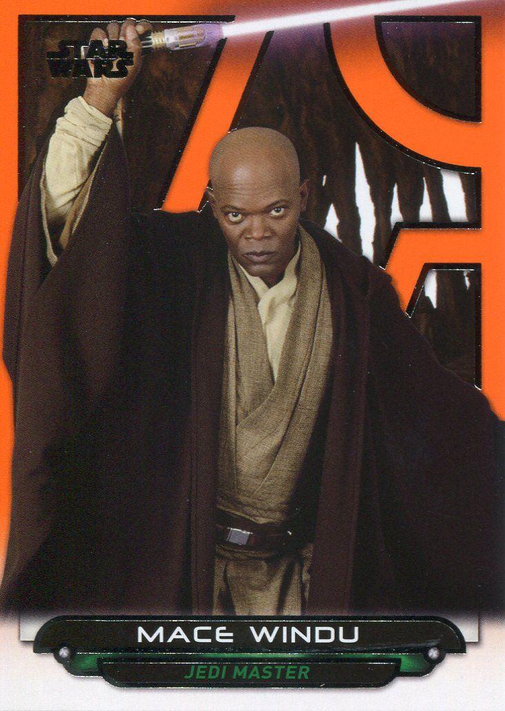 Star Wars Galactic Files Reborn Orange Parallel Base Card AOTC-5 Boba Fett