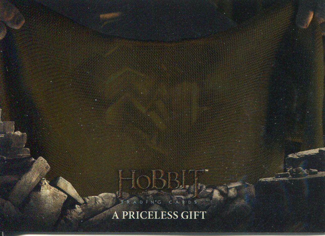 Hobbit Battle Of 5 Armies Foil Base Card #40 A Priceless Gift