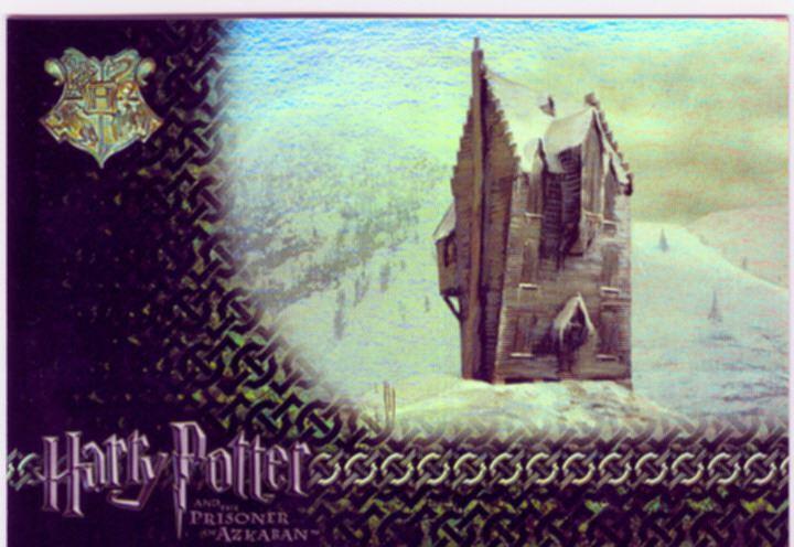 Harry Potter Prisoner Of Azkaban Puzzle Foil Chase Card R3
