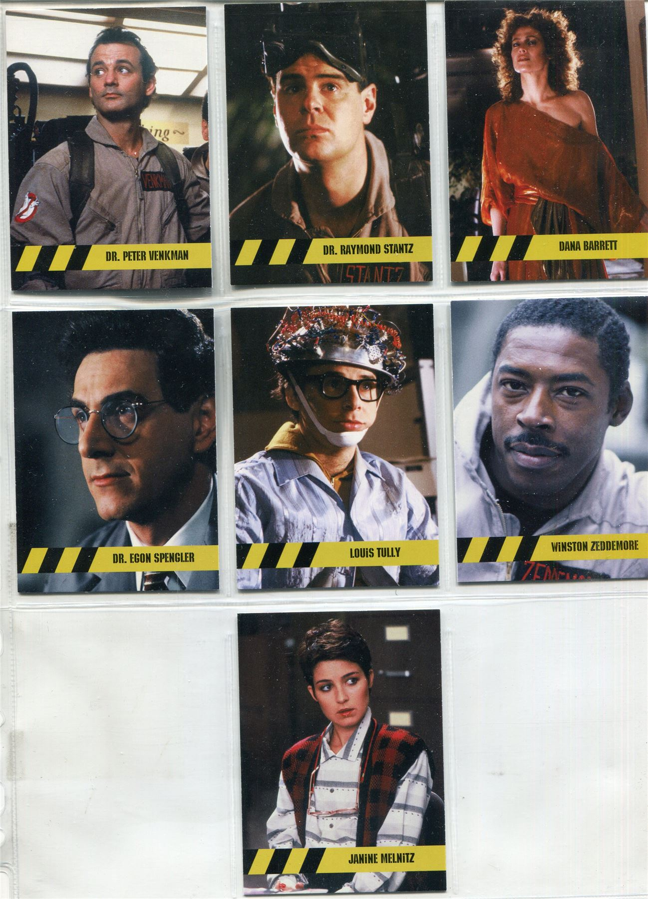 Cryptozoic Ghostbusters 2016 Foil Character Bios Chase Card C7