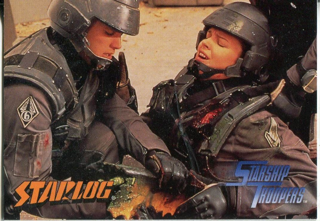 Starship Troopers The Movie Promo Card P2