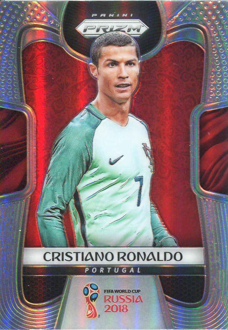 Prizm World Cup 2018 Silver Parallel Base Card  154 Cristiano Ronaldo -  Portugal 1429adf0a