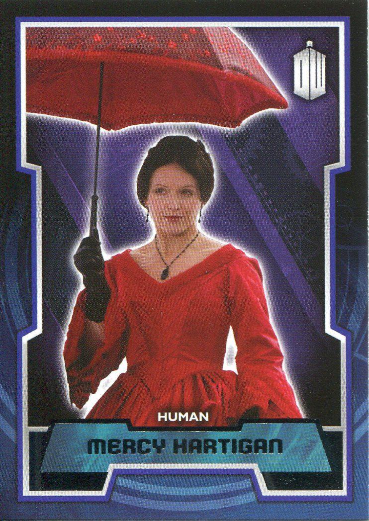 Doctor Who 2015 Base Card #141 Mercy Hartigan
