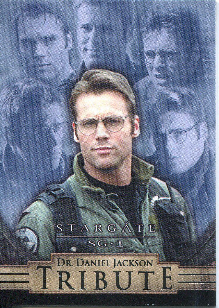 Daniel Jackson Tribute Chase Card D6 Stargate SG1 Season 5 Dr