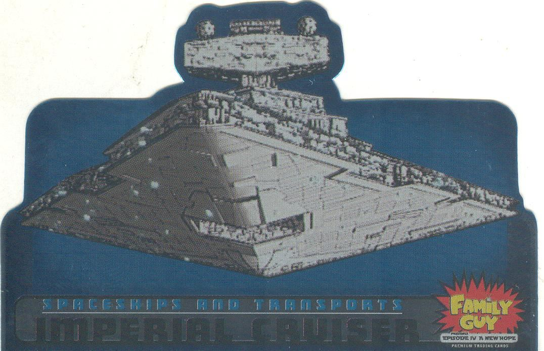 Family Guy Star Wars ANH Spaceships /& Transports Chase Card ST-9