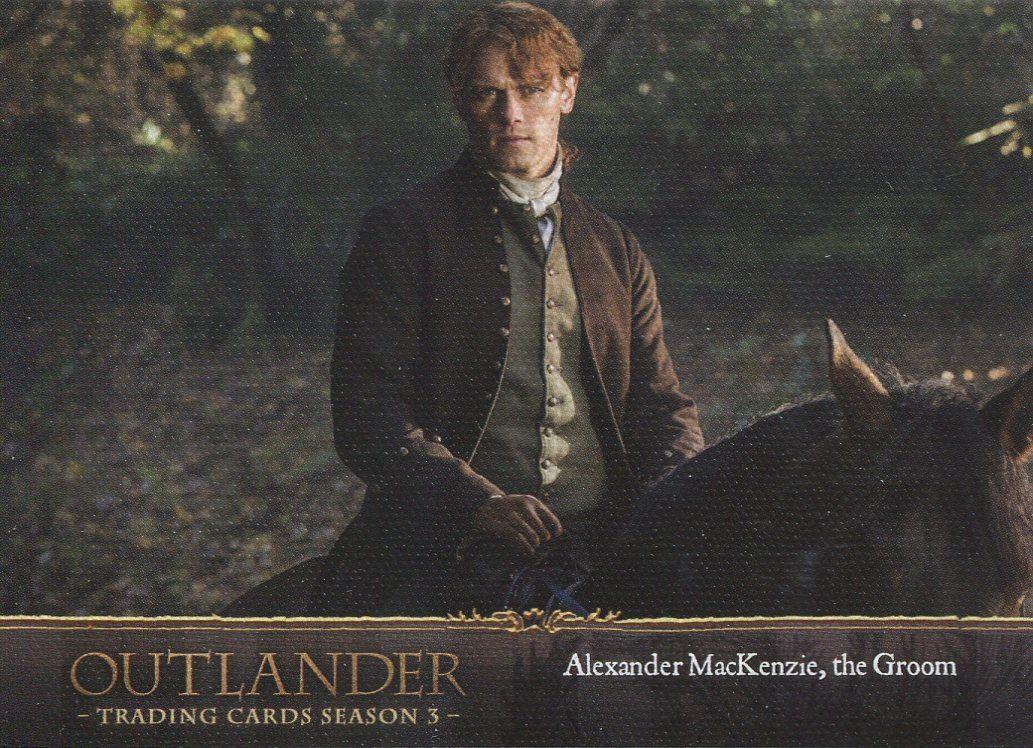 Outlander Season 3 Gold Crest Base Card #43 Return to Lallybroch Losse niet-sportkaarten