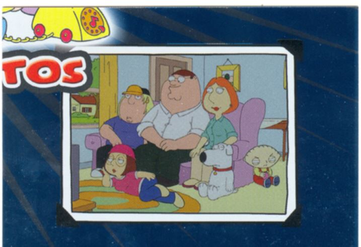 Family Guy Season 1 Griffin Family Photos Chase Card FP3