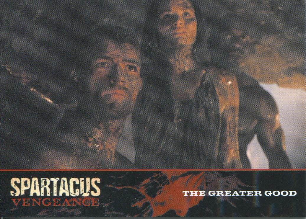 Spartacus Vengeance Episode Synopsis Base Card E6