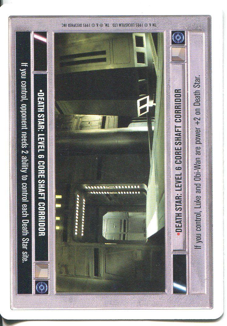 star wars ccg premiere 2 player exclusive card death star