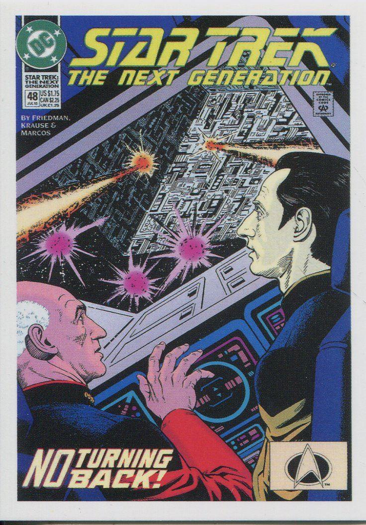 Star Trek TNG Portfolio Prints Series 2 Comic Book Chase Card CBK2.74