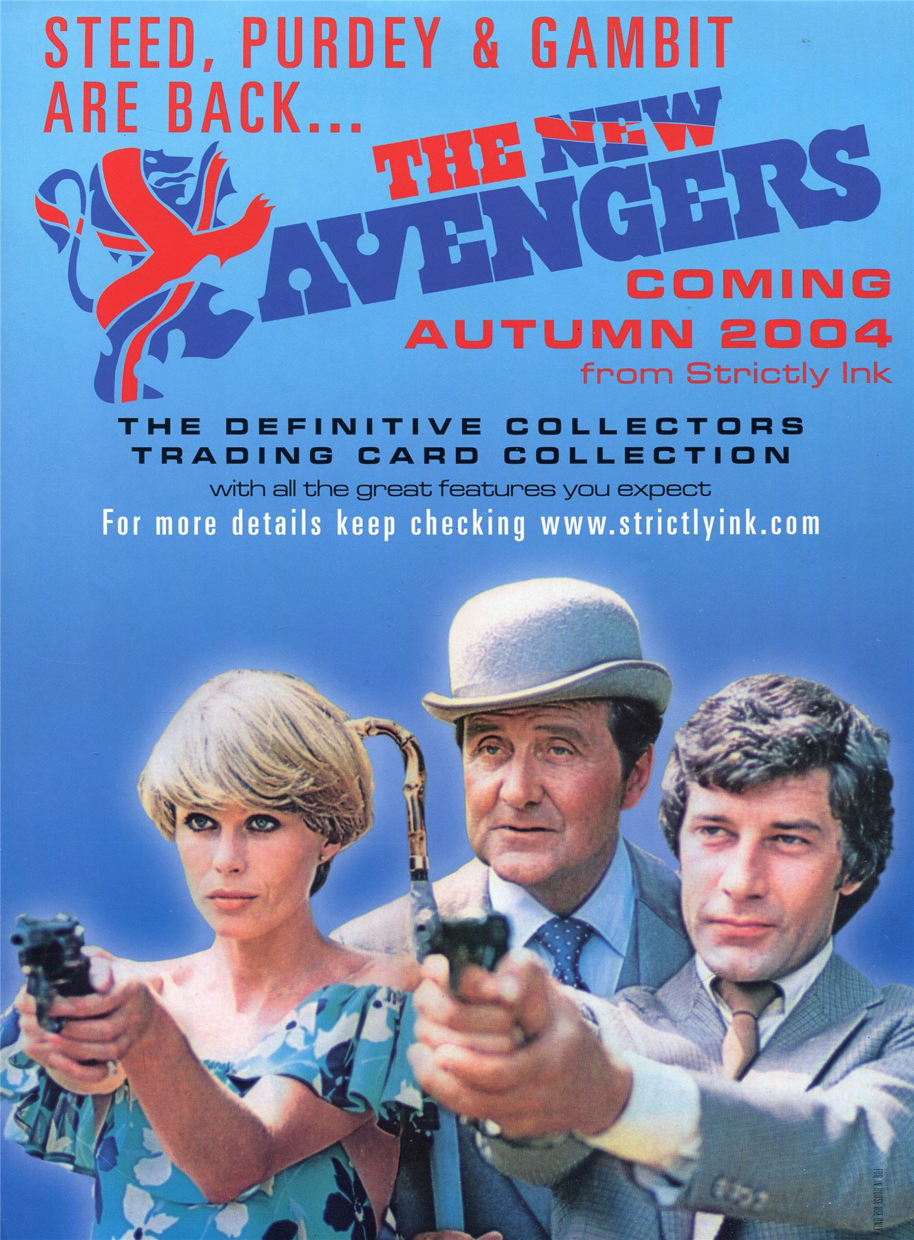 THE DEFINITIVE AVENGERS SERIES 1 TRADING CARDS SELL SHEET