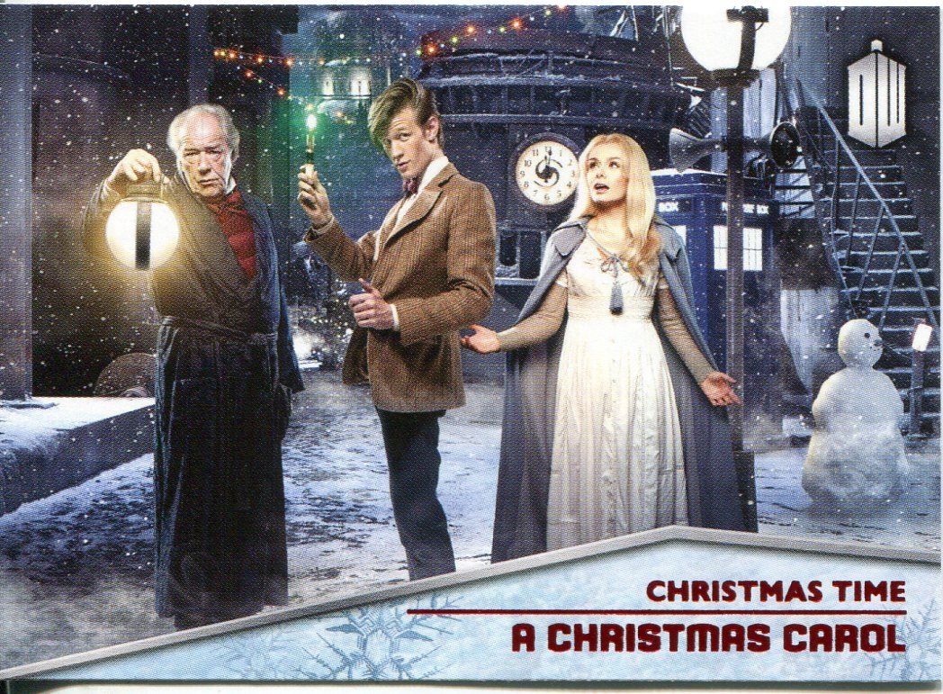 Topps 2015 Doctor Who Christmas Time Chase Trading Card Set