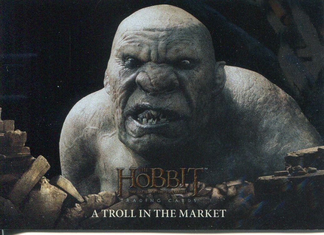 Hobbit Battle Of 5 Armies Foil Base Card #76 The Final Cut