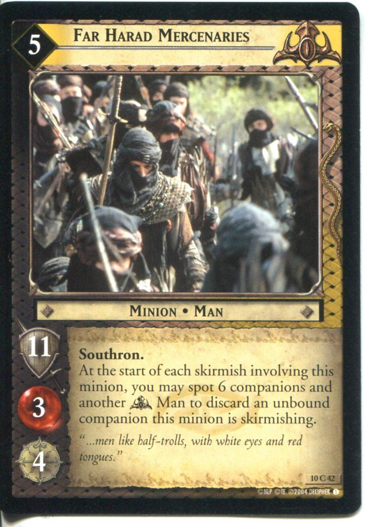 Lord Of The Rings CCG Card SoG 8.U16 Let Us Not Tarry