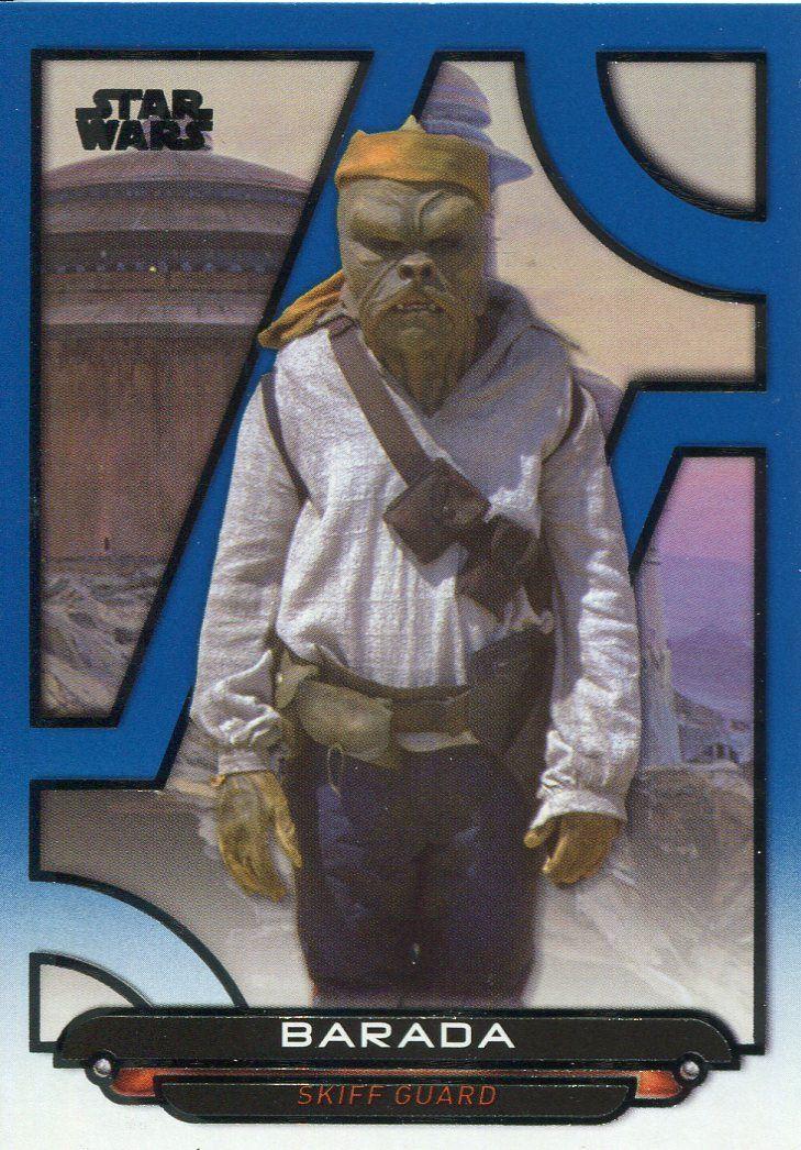 Star Wars Galactic Files 2018 Blue Base Card AOTC-24 Yoda