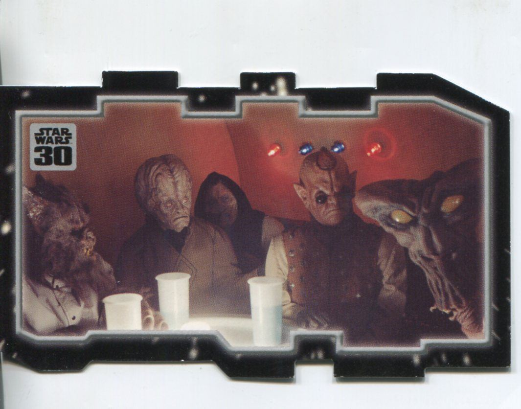 Star Wars 30th Anniversary Triptych Chase Card #1 The Underworld