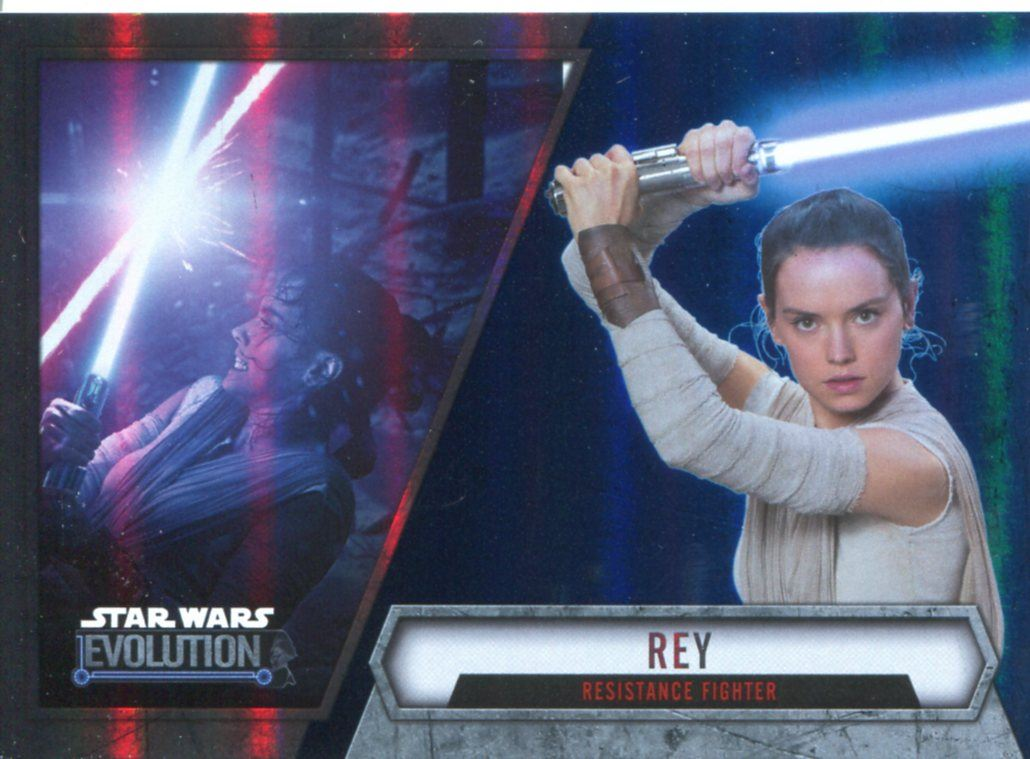 Star Wars Evolution 2016 Purple Parallel Card #89 Finn Resistance Fighter