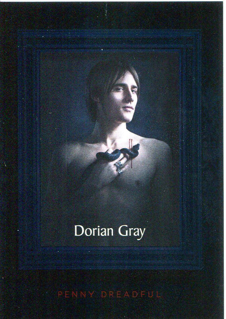 Penny Dreadful Season 1 Etching Chase Card E4 Dorian Gray Losse niet-sportkaarten