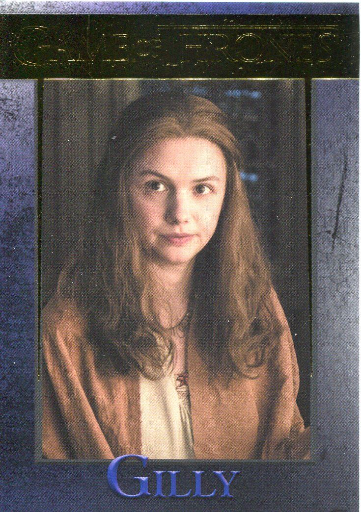 Game Of Thrones Season 7 Gold Parallel Base Card #55 Eddison Tollett