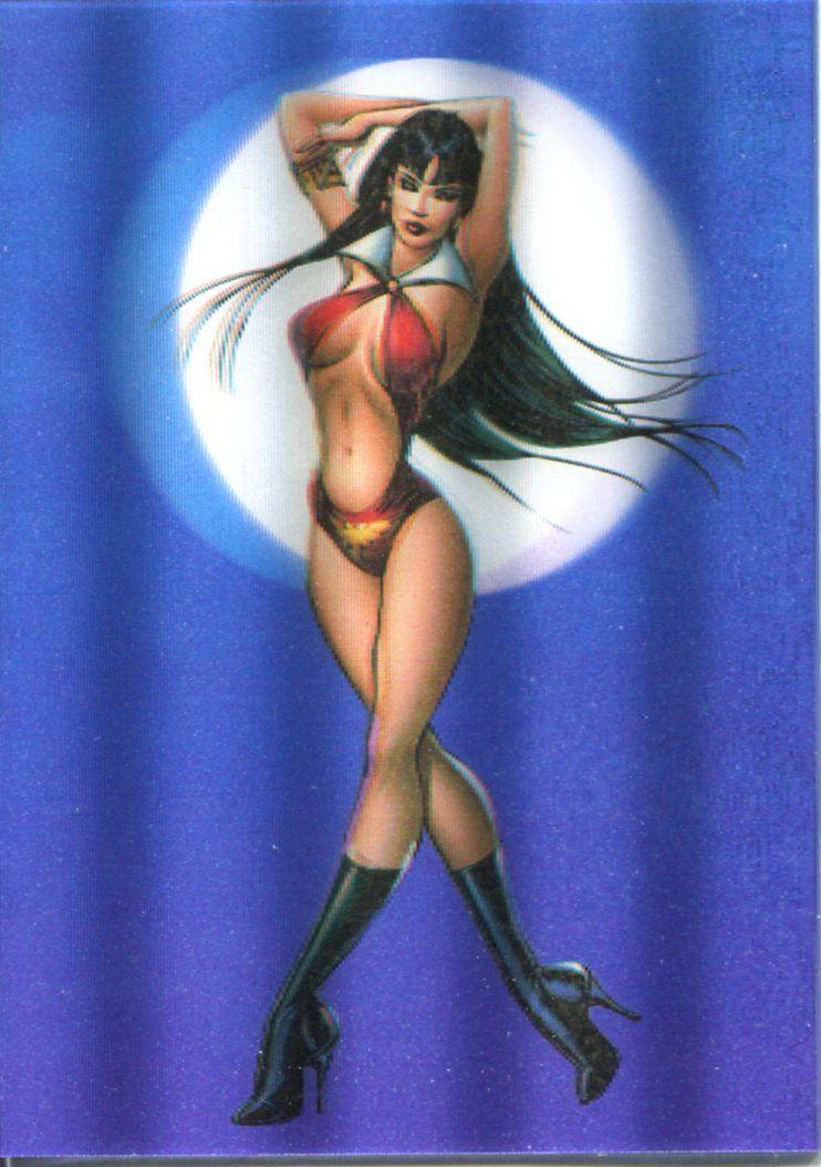 Vampirella 2012 3D Lenticular Chase Card VL2