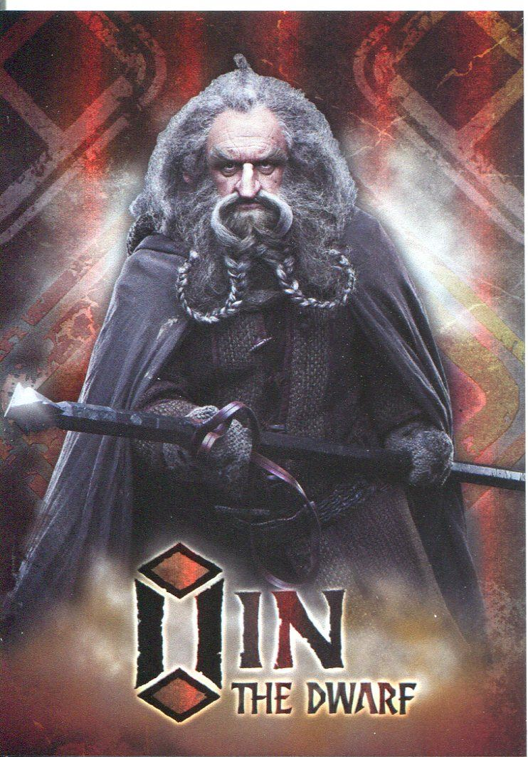 The Hobbit An Unexpected Journey Character Chase Card CB-10 Ori The Dwarf