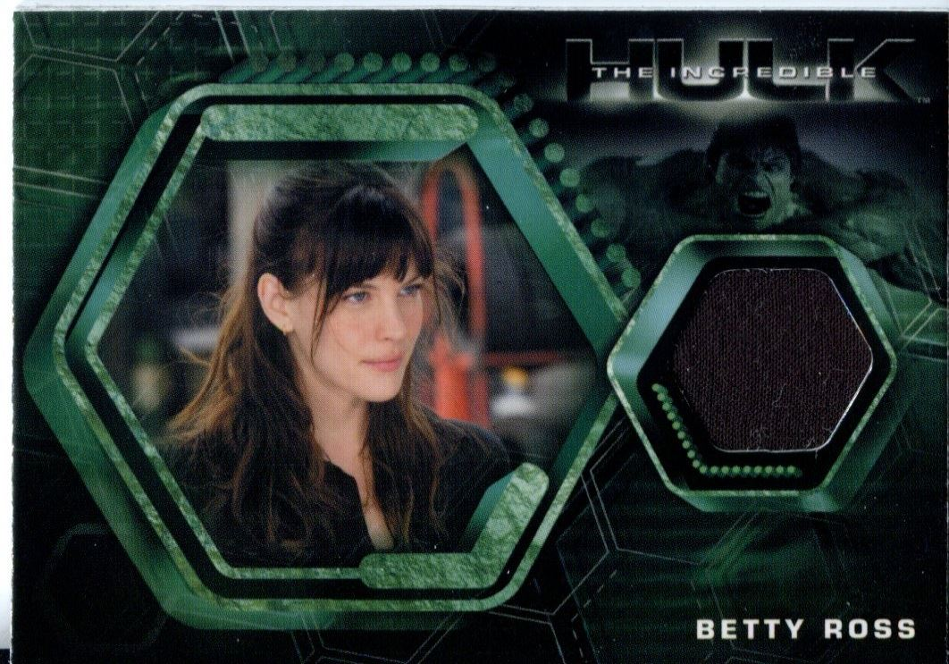 The Incredible Hulk Costume Card CC2 Liv Tyler As Betty Ross  sc 1 st  eBay & The Incredible Hulk Costume Card CC2 Liv Tyler As Betty Ross ...