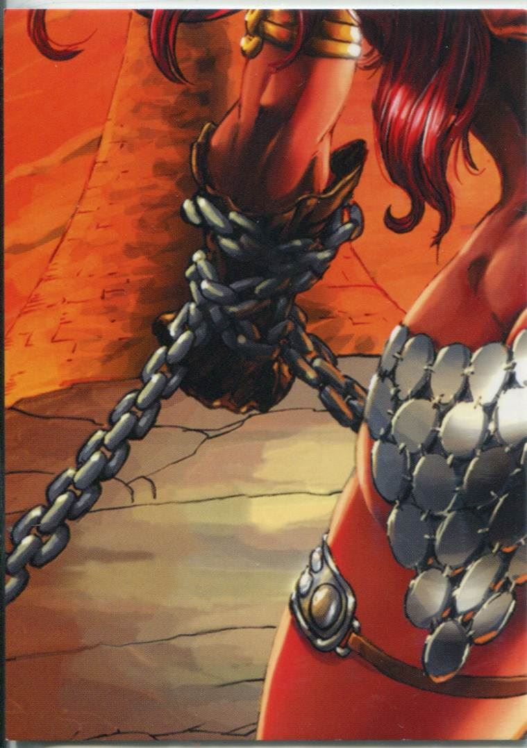 Breygent Red Sonja Robert Howard Puzzle Chase Card RS-P7