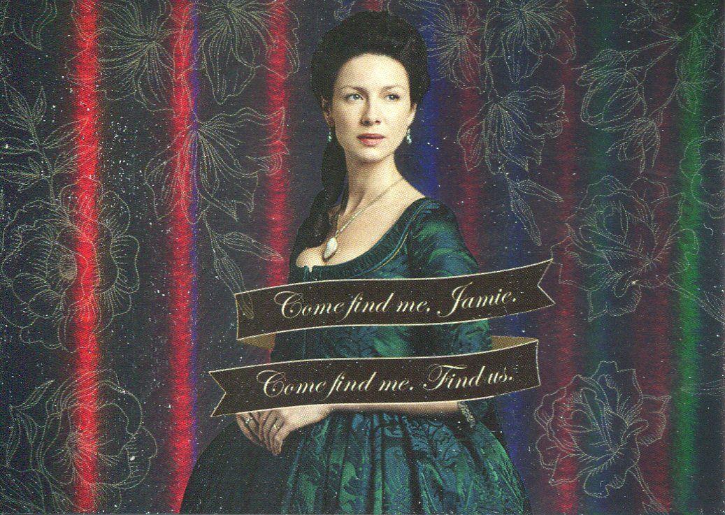 Outlander Season 2 Rainbow Foil Quotes Chase Card Q7 Perhaps you should beg?