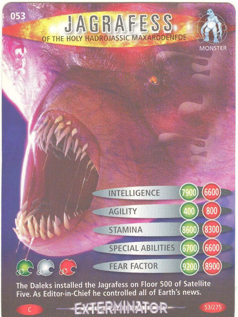 Doctor Who Battles In Time Exterminator #56 Cassandra