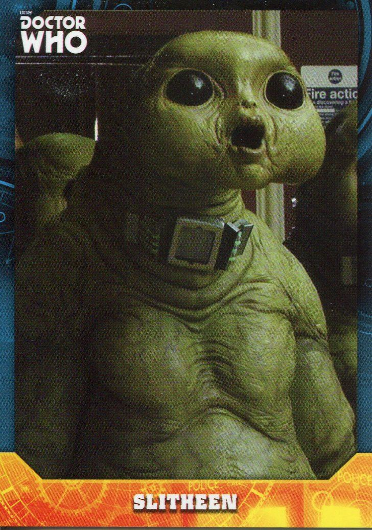 Doctor Who Signature Series Base Card #43 Slitheen