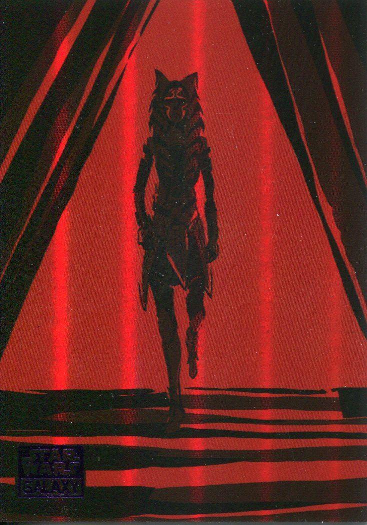Star Wars Galaxy 2018 Journey Of Ahsoka Chase Card 9 Of 10