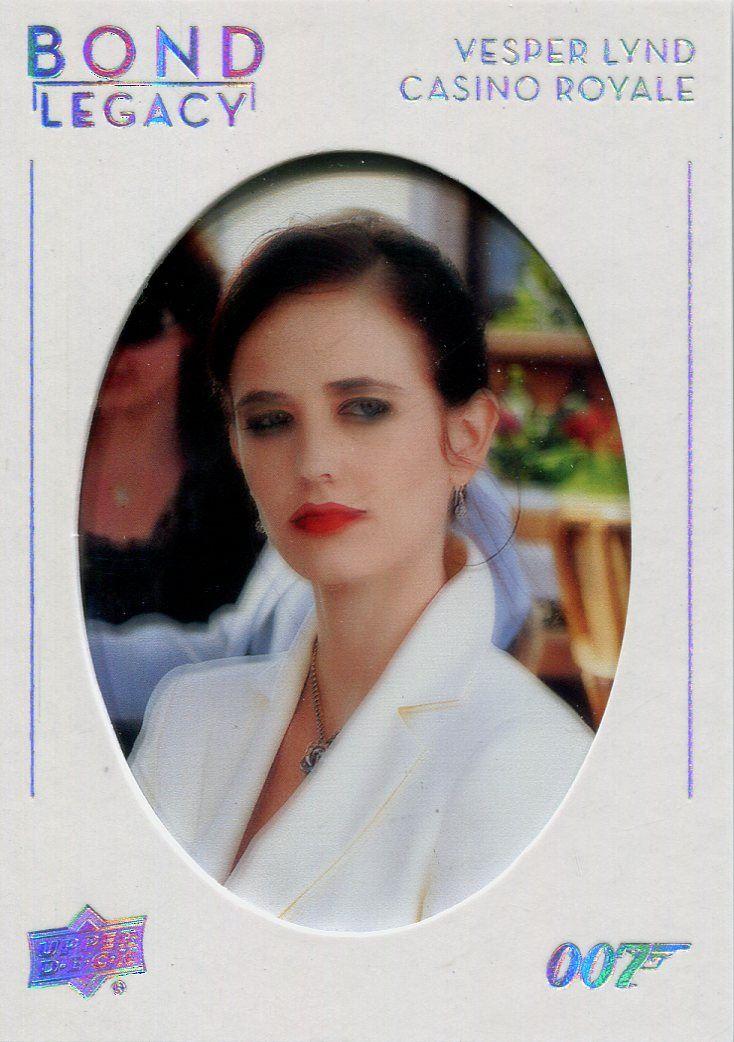 James Bond Collection Bond Legacy SP Chase Card BL-31 Eva Green as Vesper Lynd
