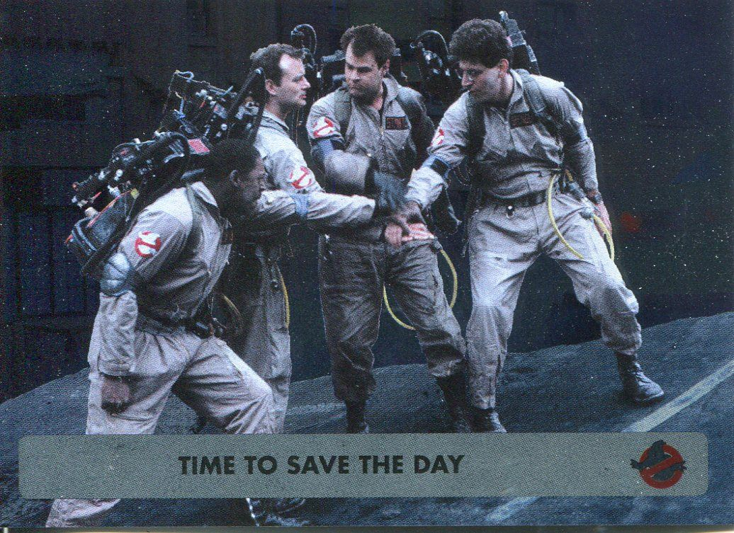Cryptozoic Ghostbusters 2016 Parallel Foil Base Card #38 THE QUESTION
