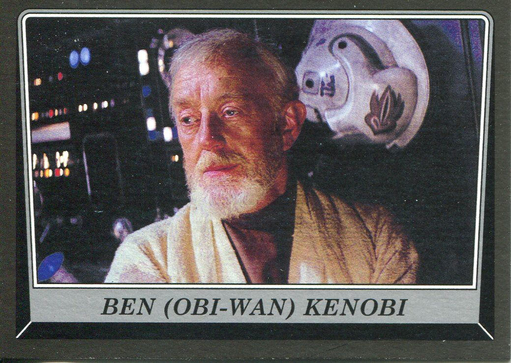 Obi-Wan Kenobi 2016 Topps Star Wars Rogue One Mission Briefing Black #97 Ben