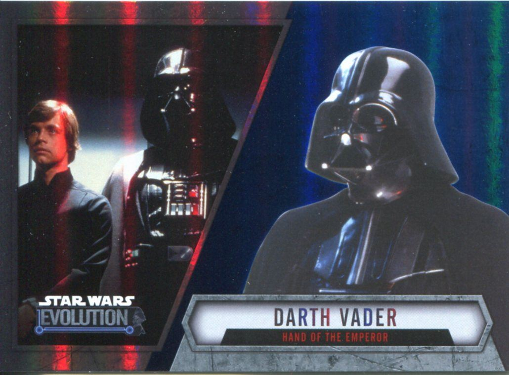 Star Wars Evolution Conjunto completo de base Trading Card Topps 2016