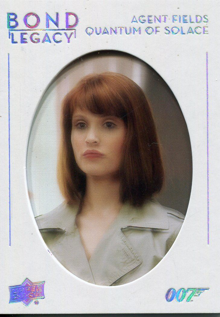 James Bond Collection Bond Legacy Chase Card BL-10 Gemma Atherton as Fields