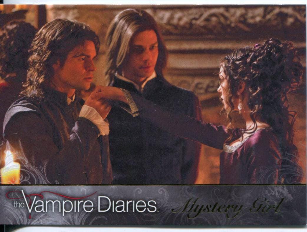 Vampire Diaries Season 2 Katerina Petrova Chase Card KP1 Mystery Girl