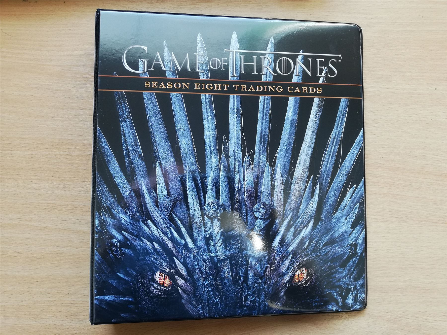 Game Of Thrones Season 8 Official Rittenhouse Archives Binder