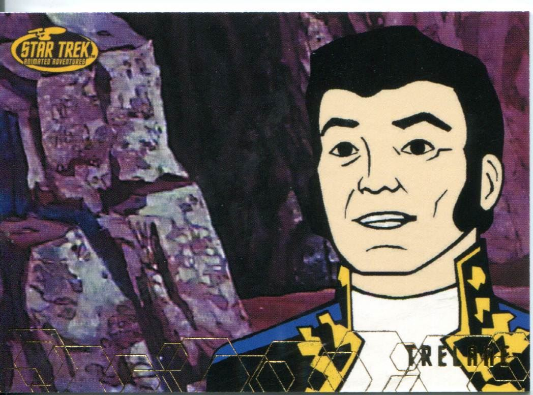 Star Trek TOS Art /& Images Expanded Universe Chase Card AS32