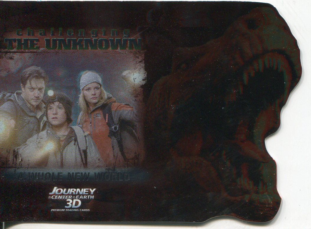 Journey To The Centre Of The Earth Challenging Chase Card CU5